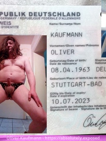 Oliver Kaufmann is now absolutely exposed.